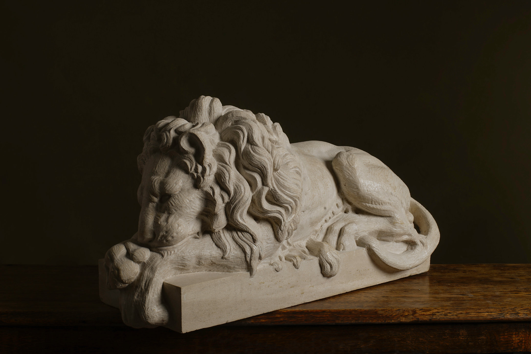 Lion, London Stone Carving