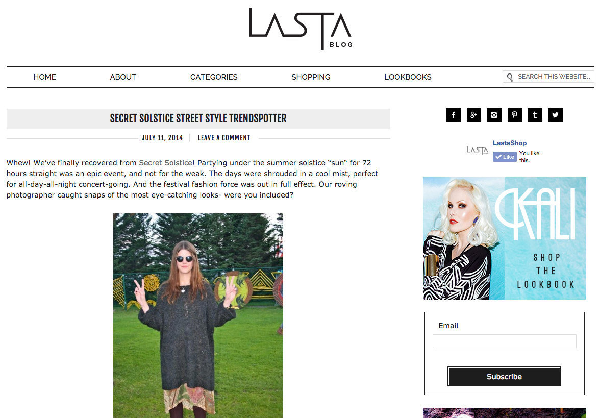 LASTASHOP BLOG- StreetStyle Report