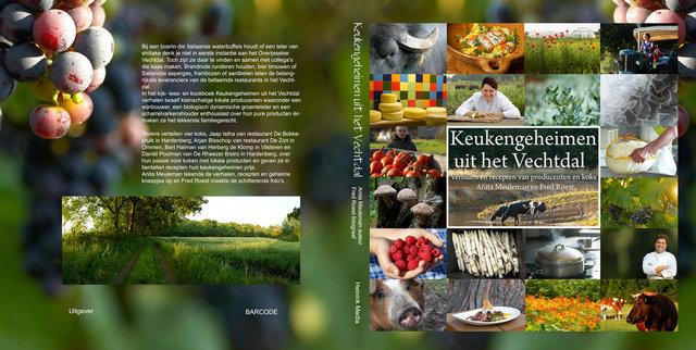 Boek Keukengeheimen uit het Vechtdal -  eigen produktie, art direction, ontwerp -oplage 2250 st - uitverkocht in 7 mnd..jpg