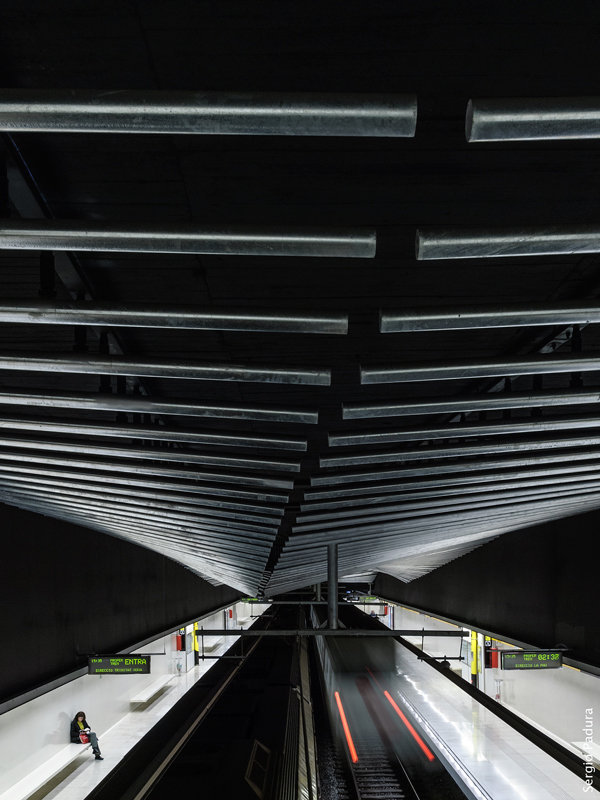 Metro Llucmajor, Barcelona.