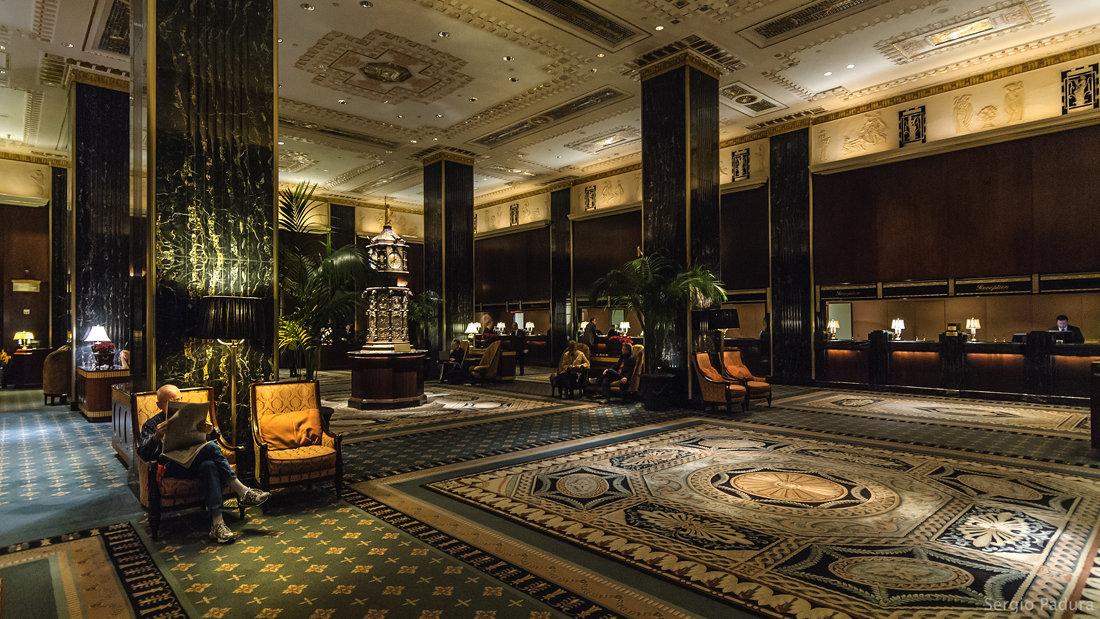 Waldorf-Astoria Lobby NY