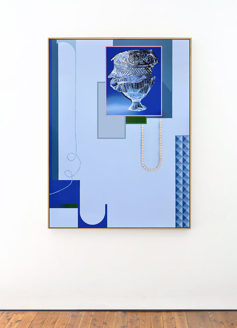 Ten percent of yuor cells is people, 2019, 175 x 125 cm, acrylic and flashe on canvas web framed.jpg