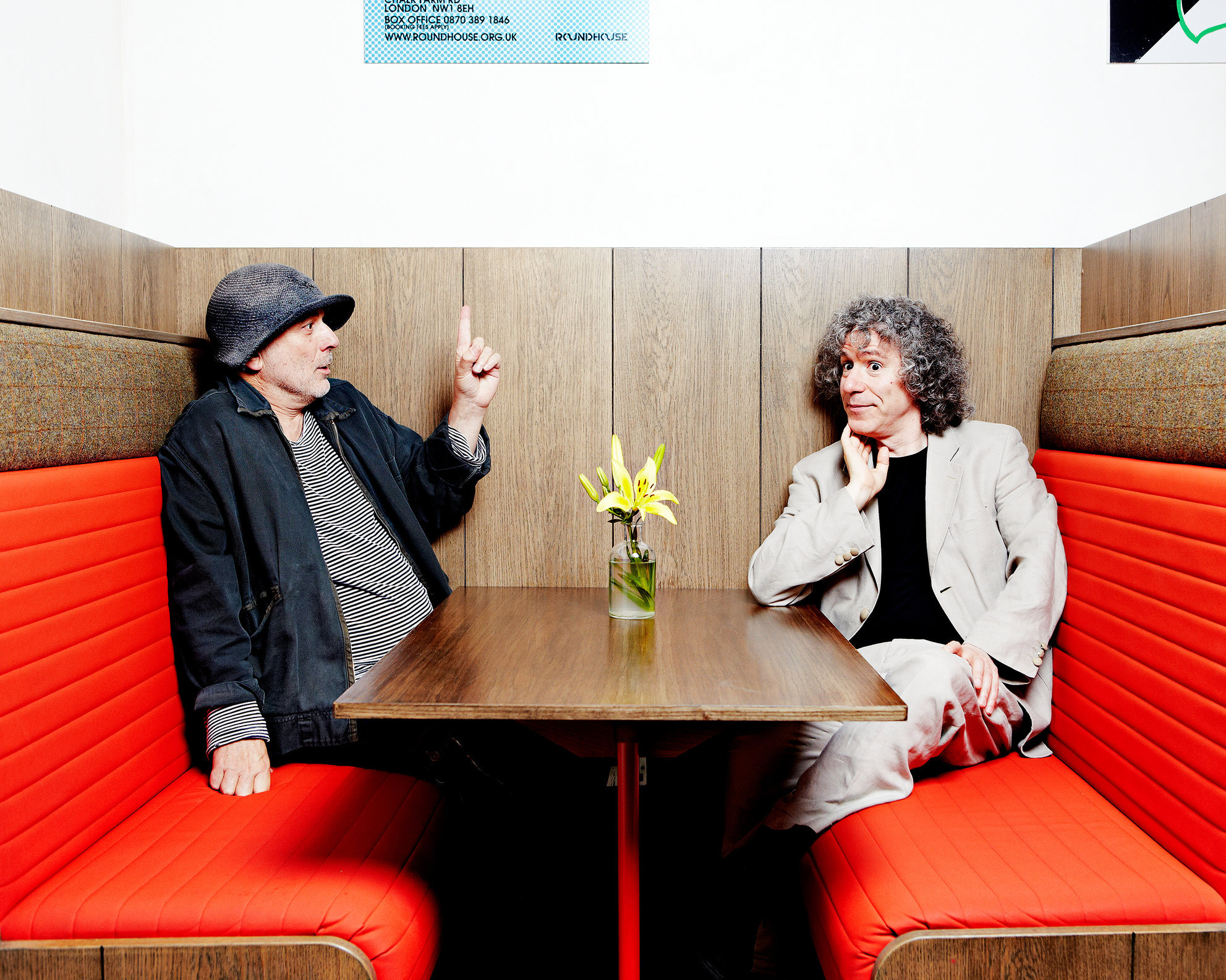 Ron Arad & Stephen Isserlis, The Roundhouse