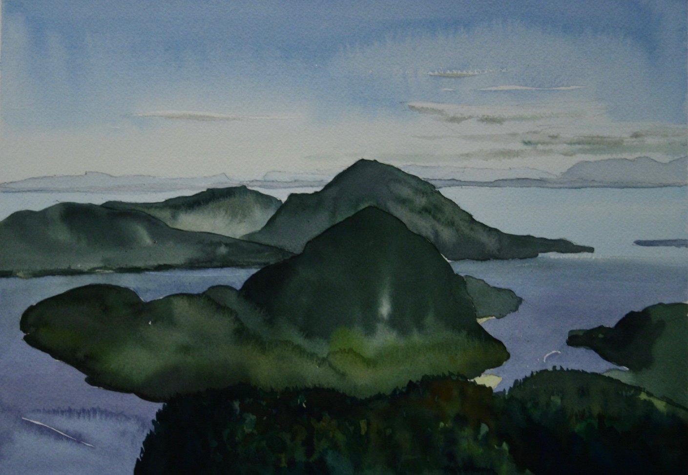 Peak view, Anvil Island, Howe Sound, BC