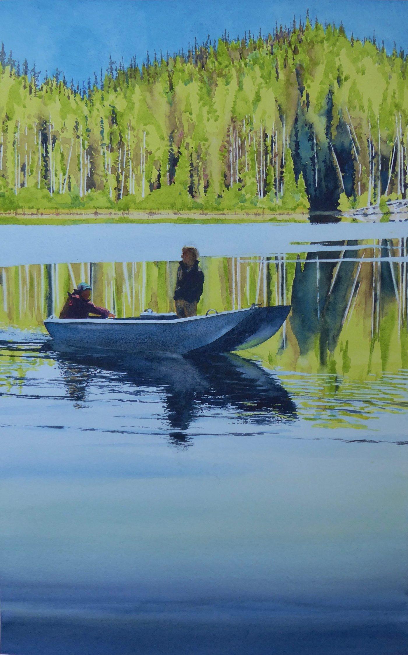 Hoopy Lake Fishermen