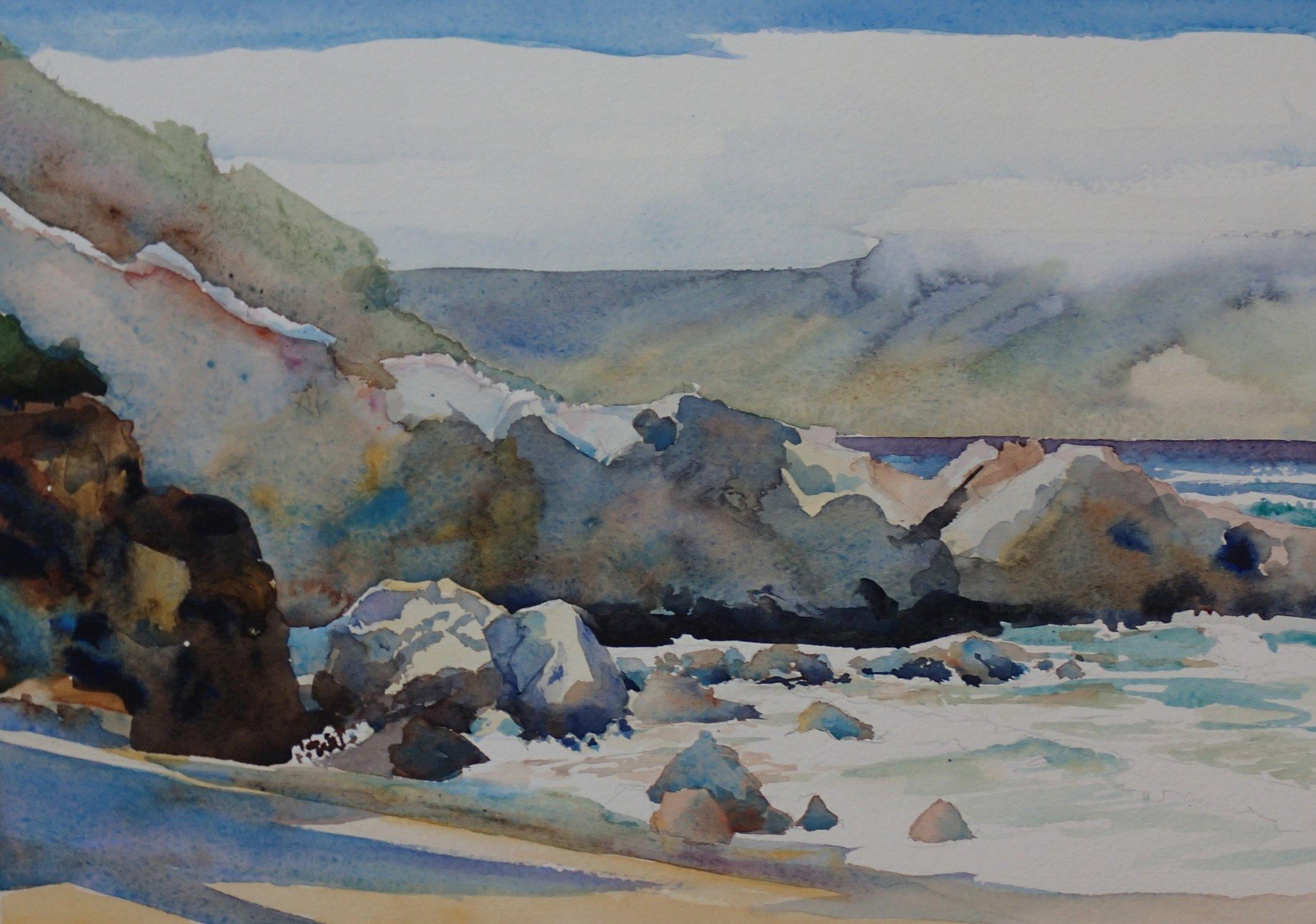 Slaughterhouse Beach Rocks
