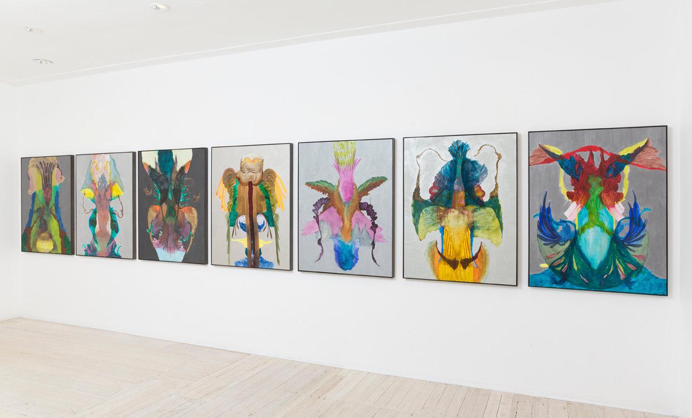 Aviary install at Gallery 9