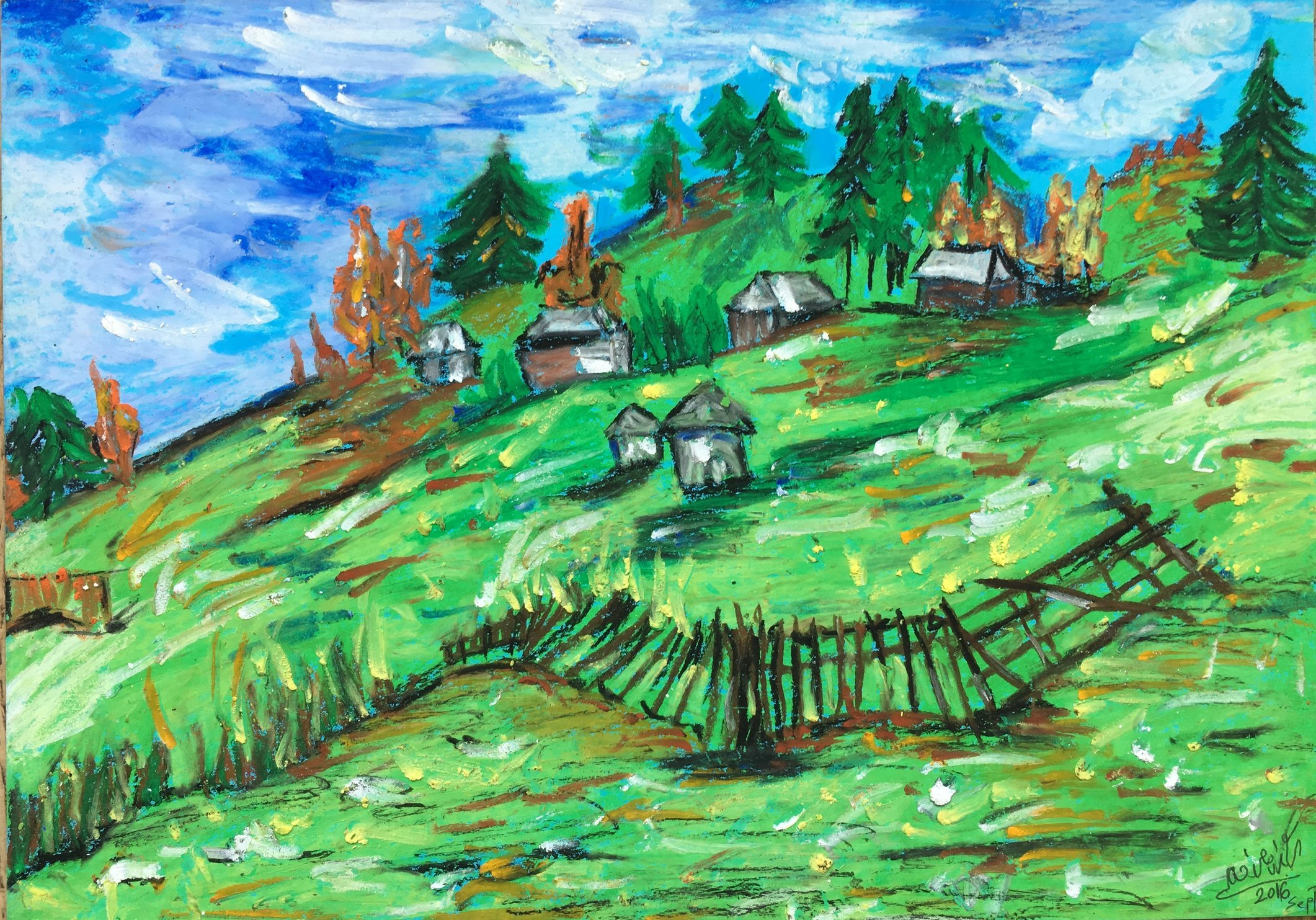 Transylvanian Landscape 2