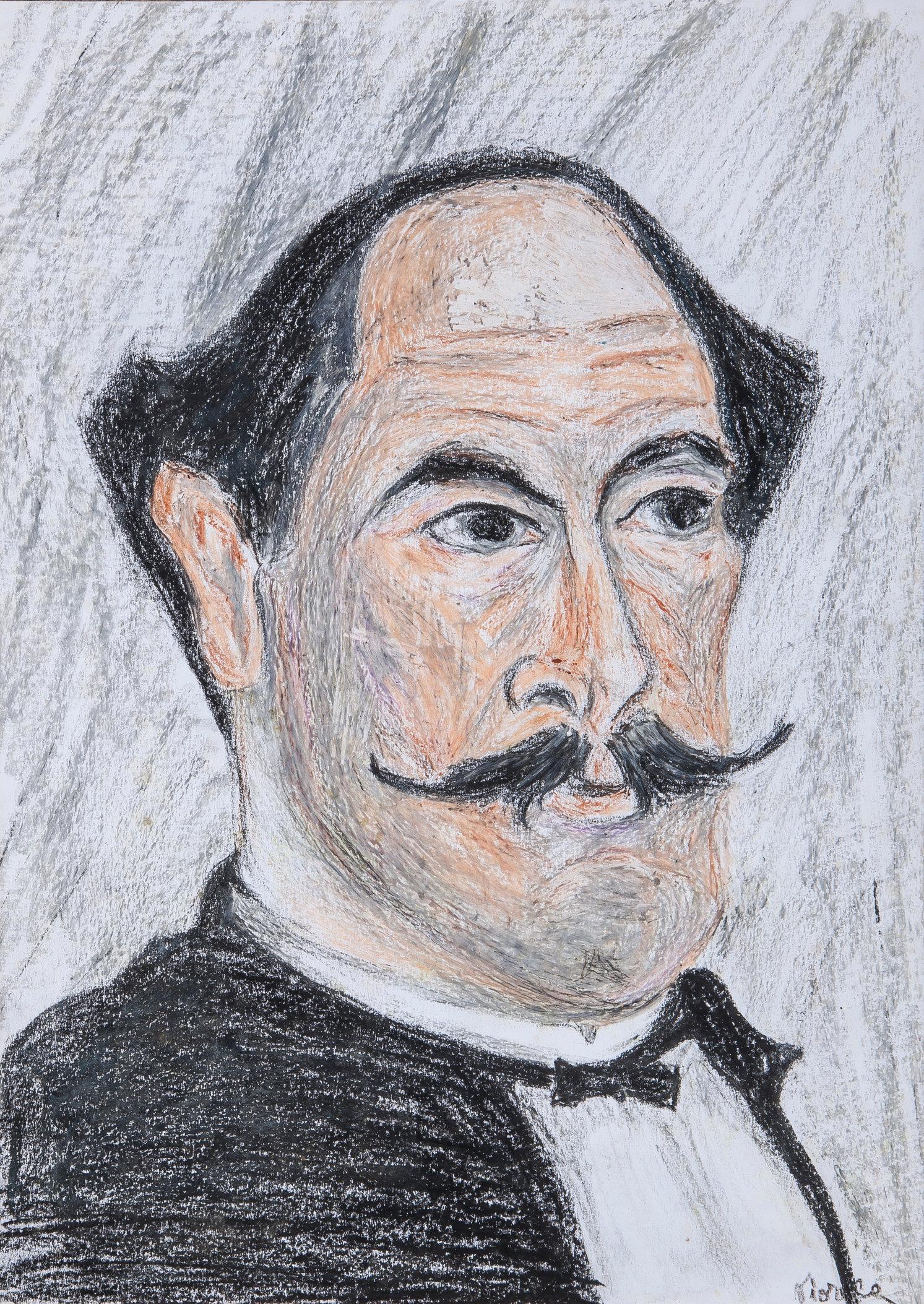 Rousseau Le Douanier's Self Portrait (Study)