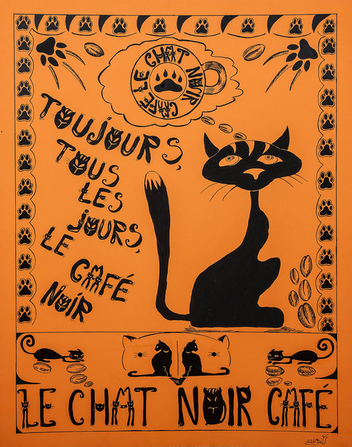 Le Chat Noir Cafe 1