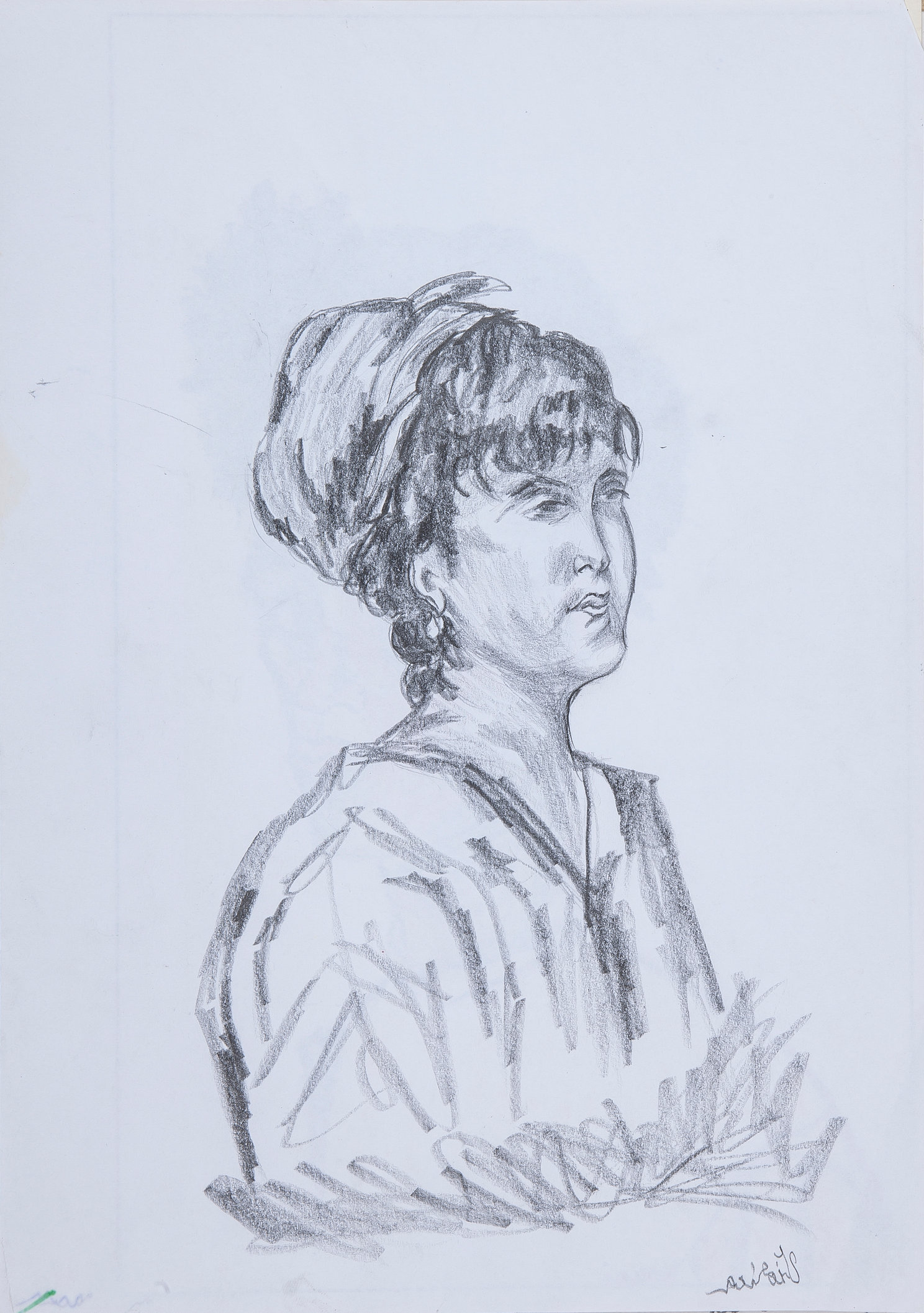 Woman 3 - Study (Left Hand Made)