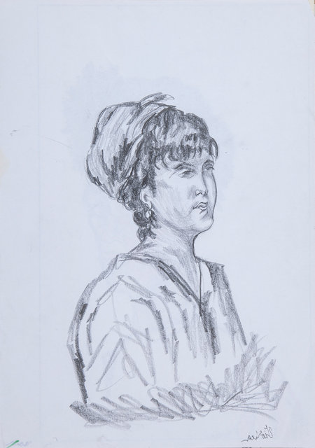 Woman 3 - Study (Left Hand Made)
