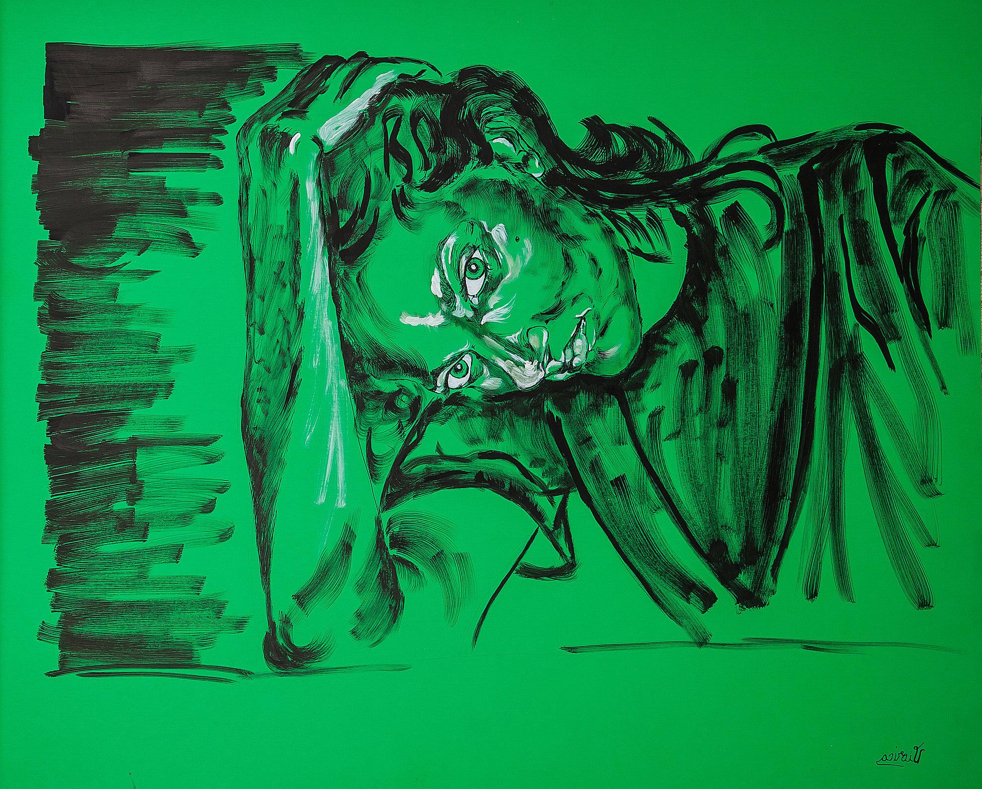 Self Portrait, Green