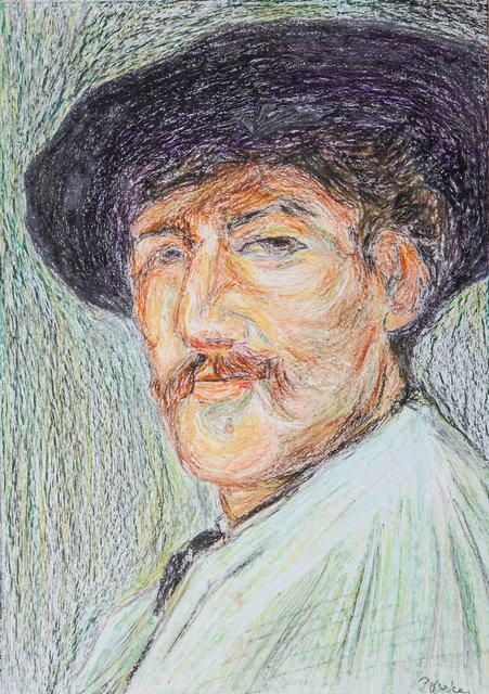 Whistler's Self Portrait (Study)