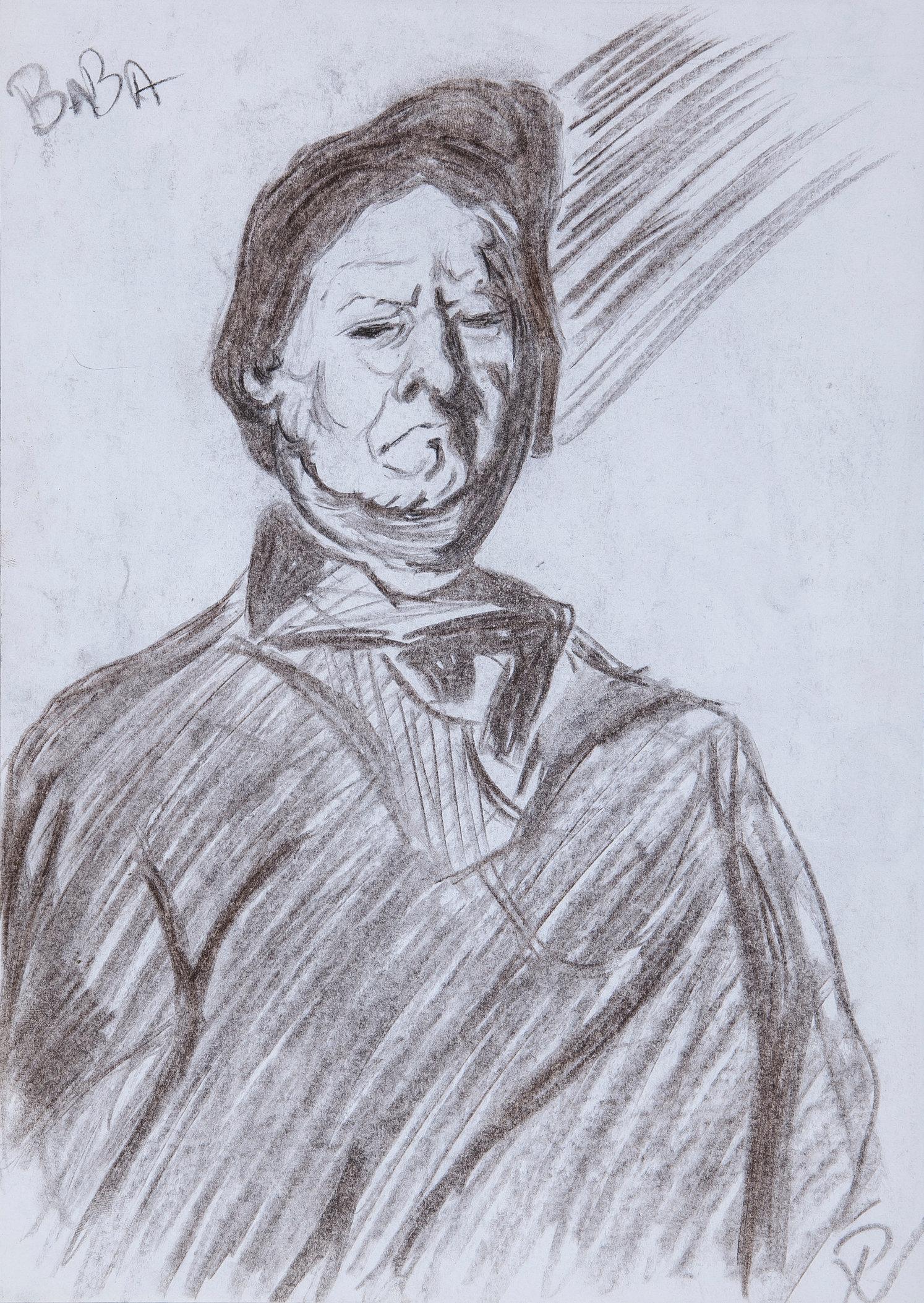 Baba, Corneliu (Portrait Study) 2
