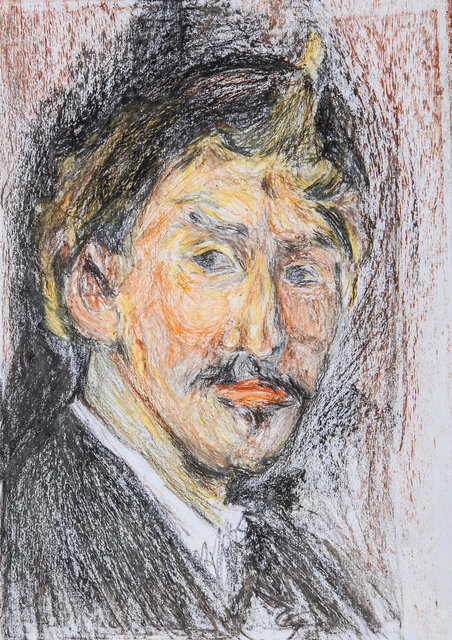 Whistler's Self Portrait (Study) 2