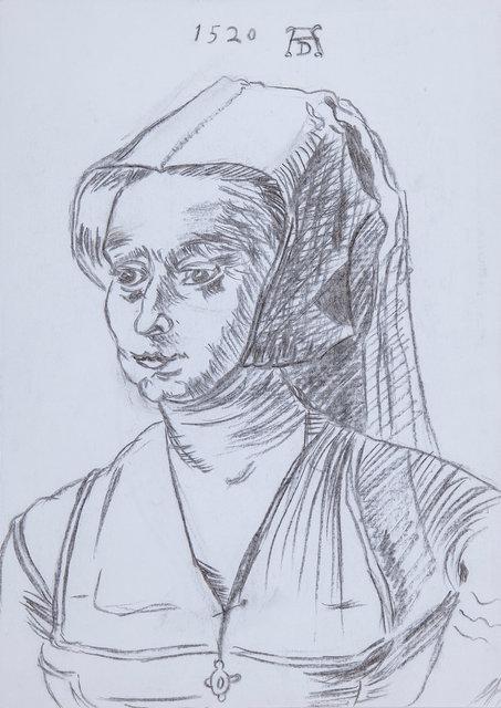 Study After Durer - Woman's Portrait