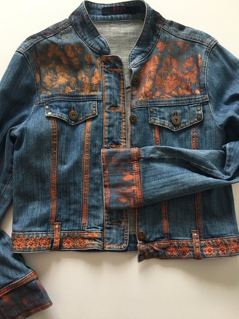 Jeans Jacket - Front Side - Autumn