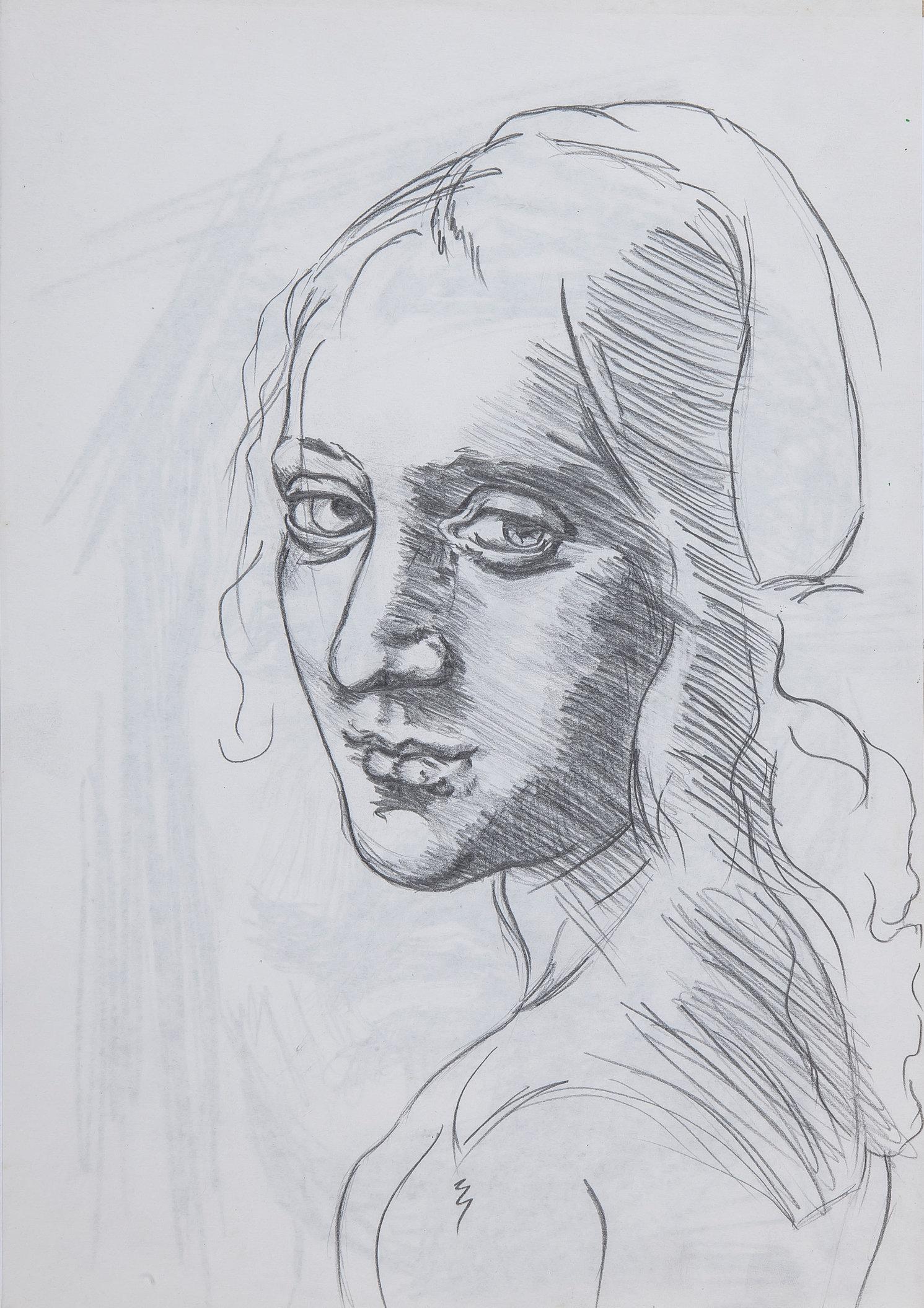 Woman 2 - Study (Da Vinci)