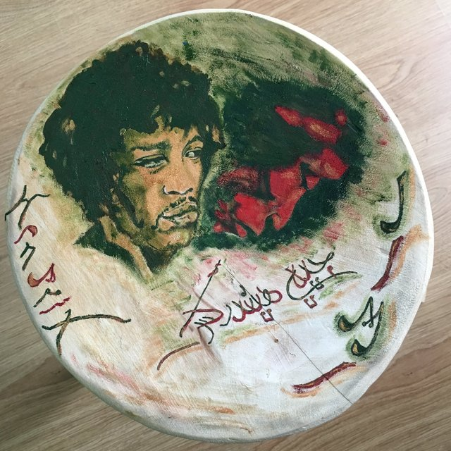 Jimi Hendrix Chair