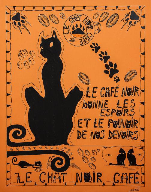 Le Chat Noir Cafe 2