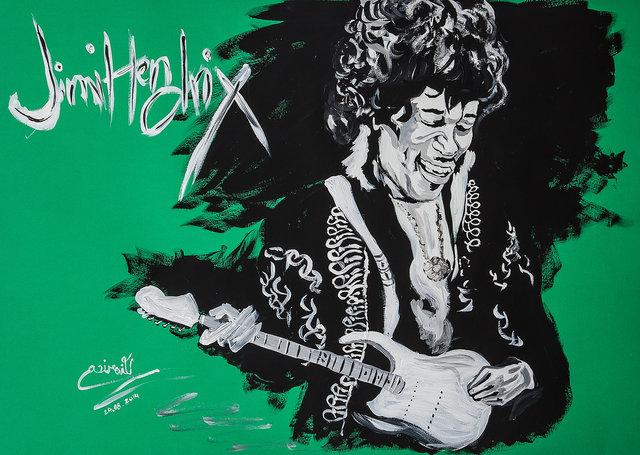 Hendrix, Jimi, Green