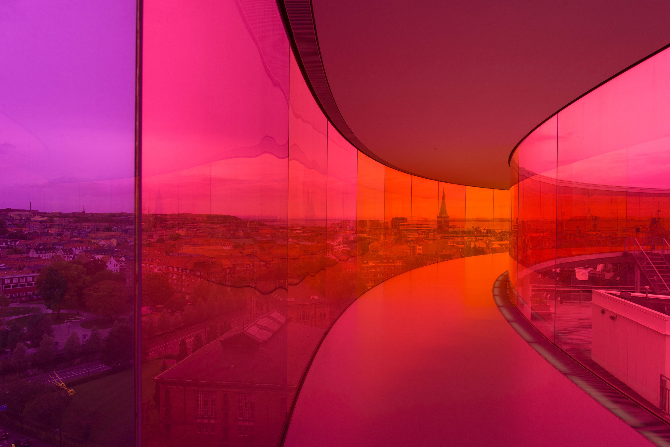 Rainbow Panorama - Aros