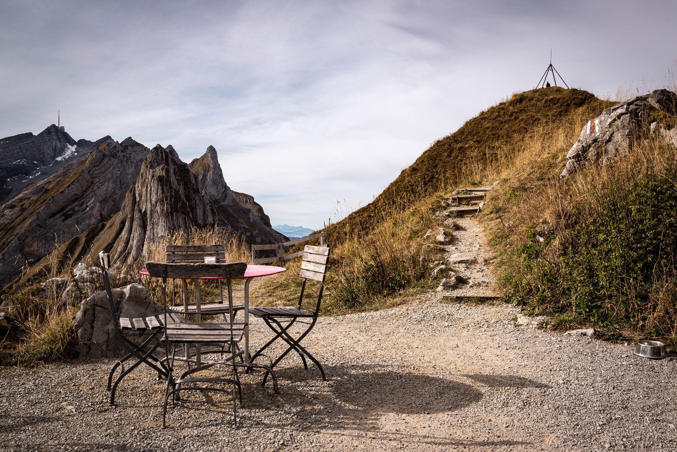 Schäfler im Herbst, Appenzell AR