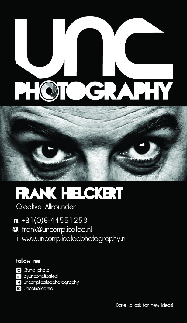 Uncomplicated Photography Businesscard