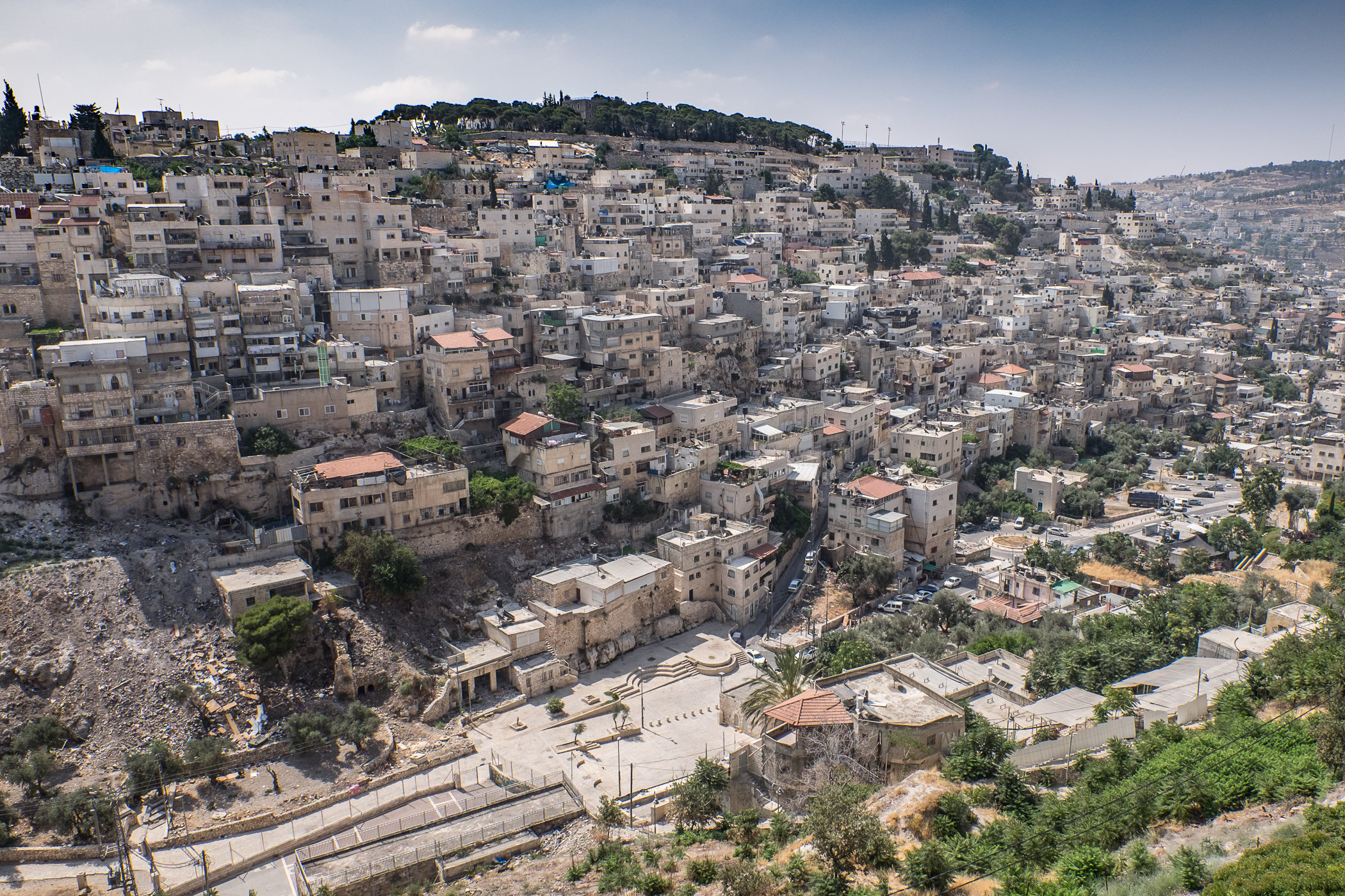 Silwan Arab neighborhood, Jerusalem