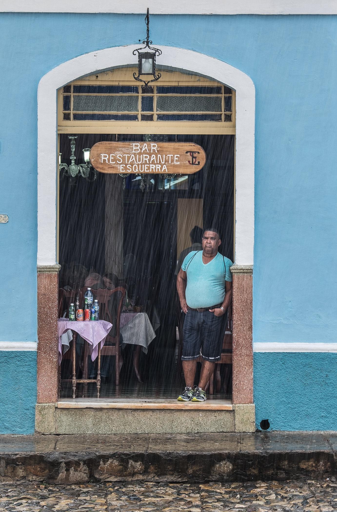 Trinidad de Cuba rain