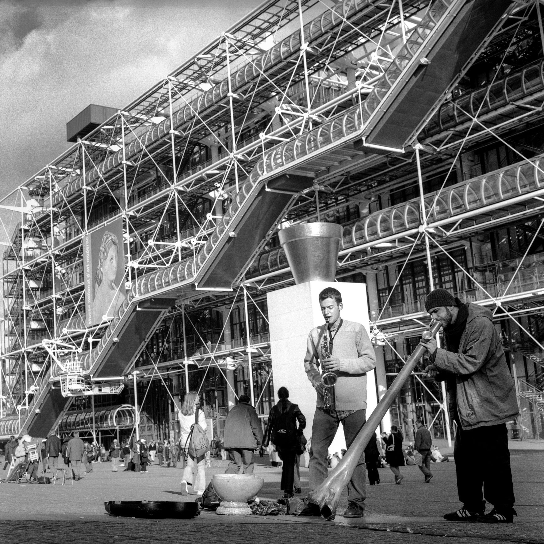 POMPIDOU CENTER, PARIS
