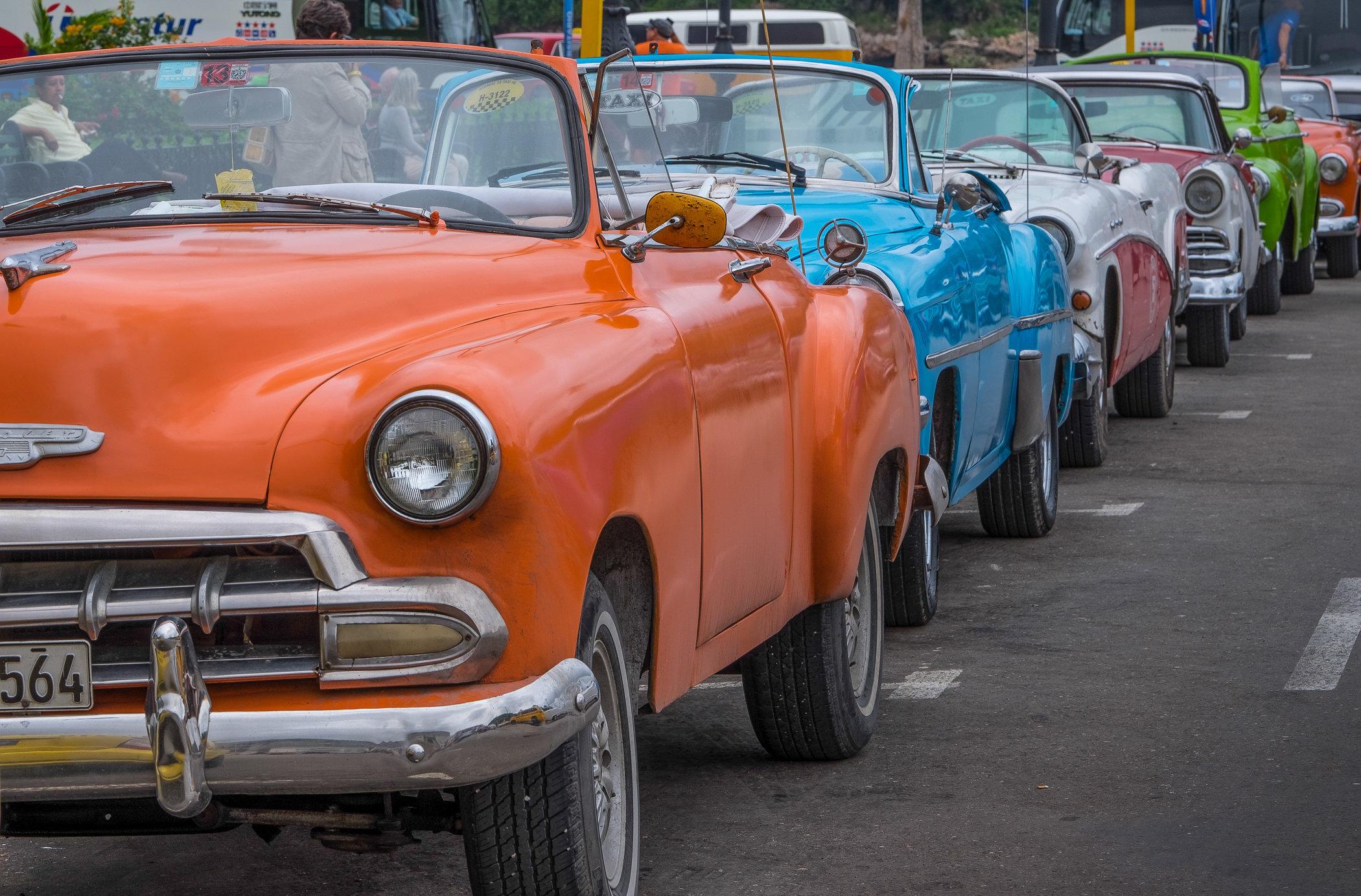de rigueur Havana old cars