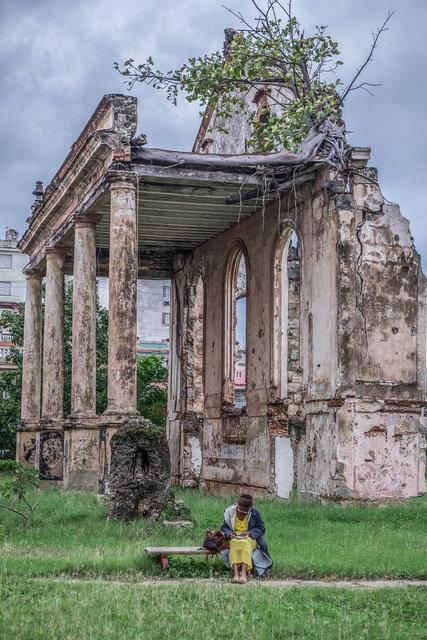 Havana HOTEL building relic