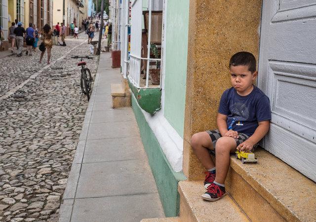 Trinidad de Cuba boy