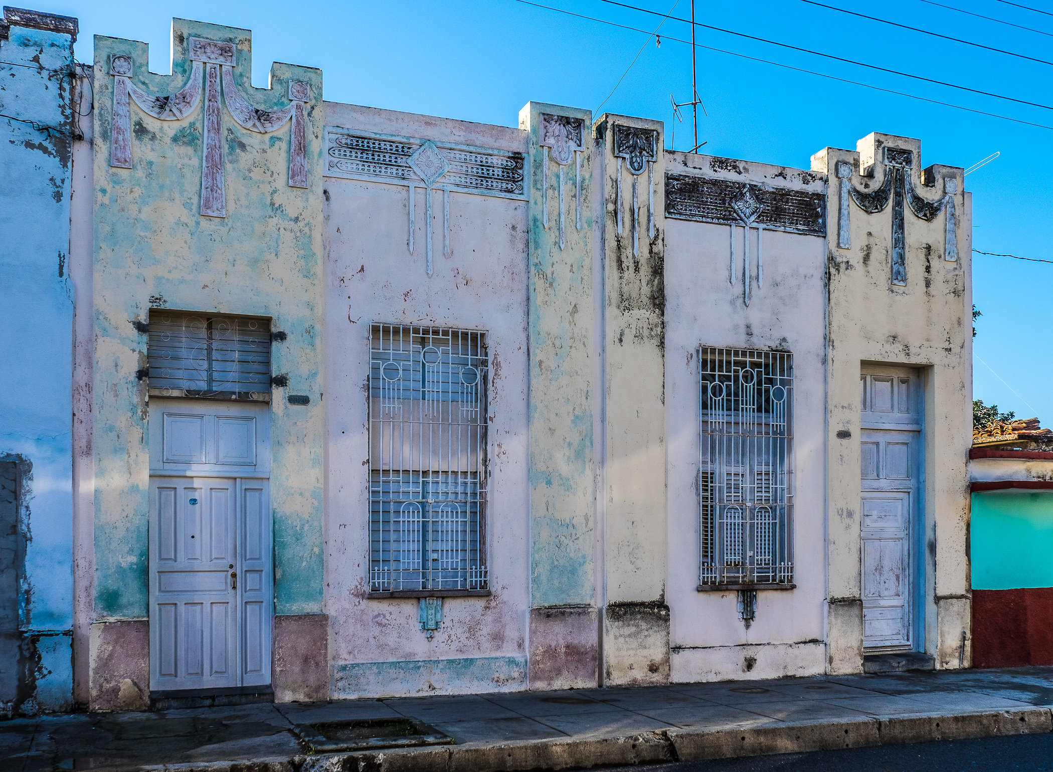 Cienfuegos art deco building