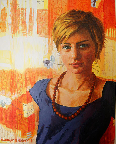 Kaja 1 76x81 akryl płótno 2011 (wł. pryw.)