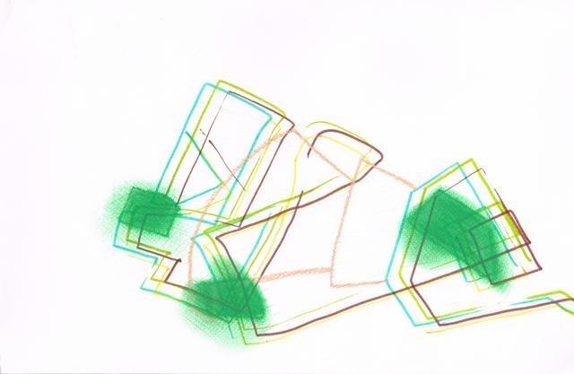 Zonder Titel, 2013  20,8 x 32,1 cm