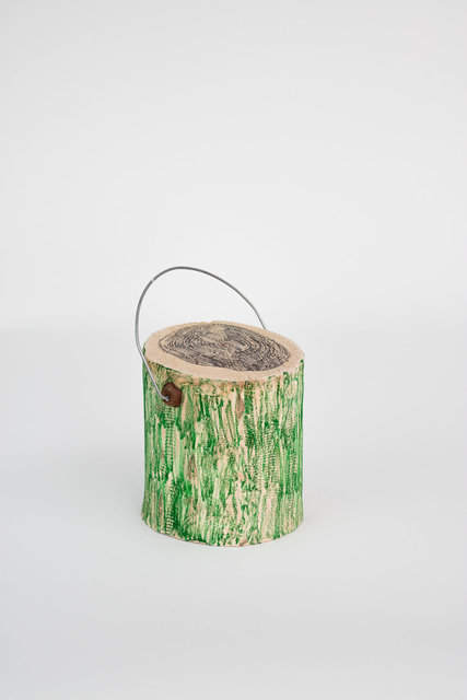 Pot de peinture vert - Collège Politzer