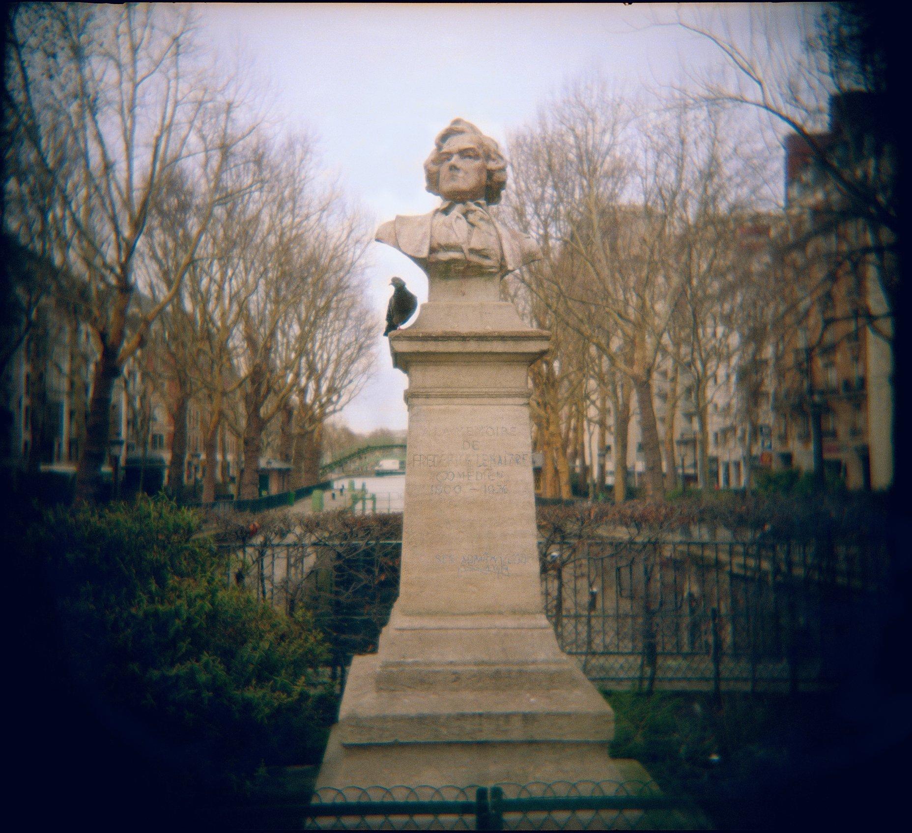 Holga France 79 #01-03_#9_Pigeon&Bust
