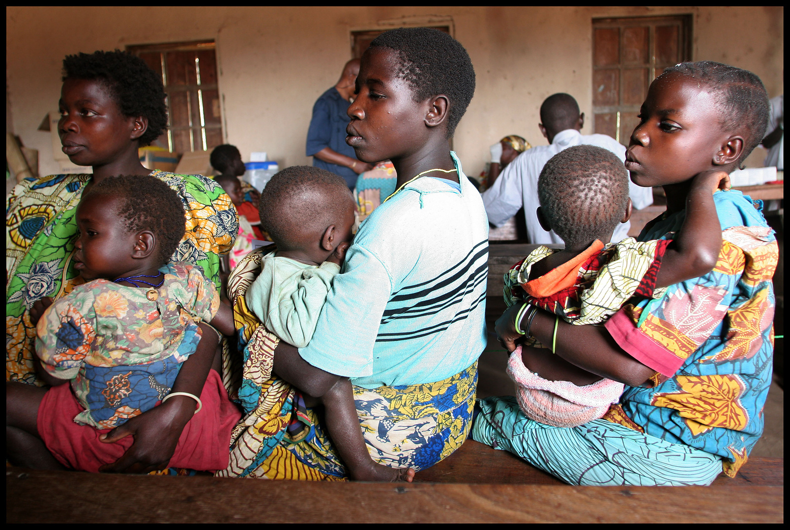 Congo - Programme de vaccination par l'ONG MEDAIR