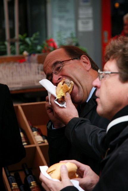 braadwurst eten