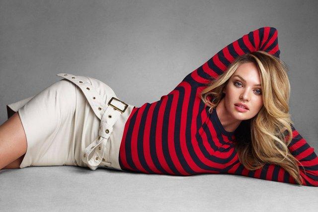 Vogue Australia. Candice Swanepoel. Sweet As Candi, June 2013