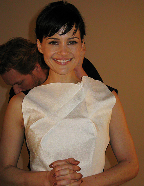 WORKING WITH ACTRESS CARLA GUGINO