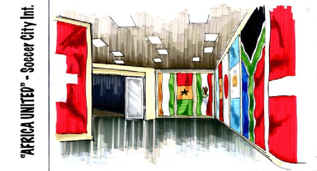 Soccer City Interior