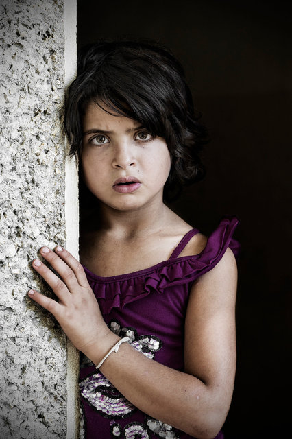 Young syrian refugee, Bekaa Valley, Lebanon 2013