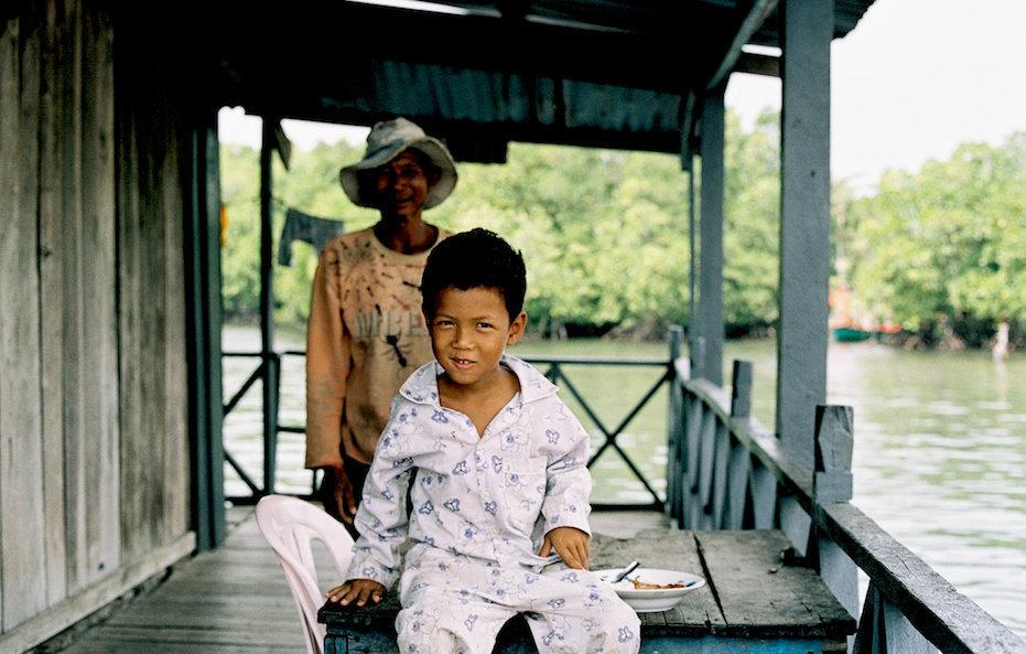 Grandma & Grandson (Cambodia), 2015