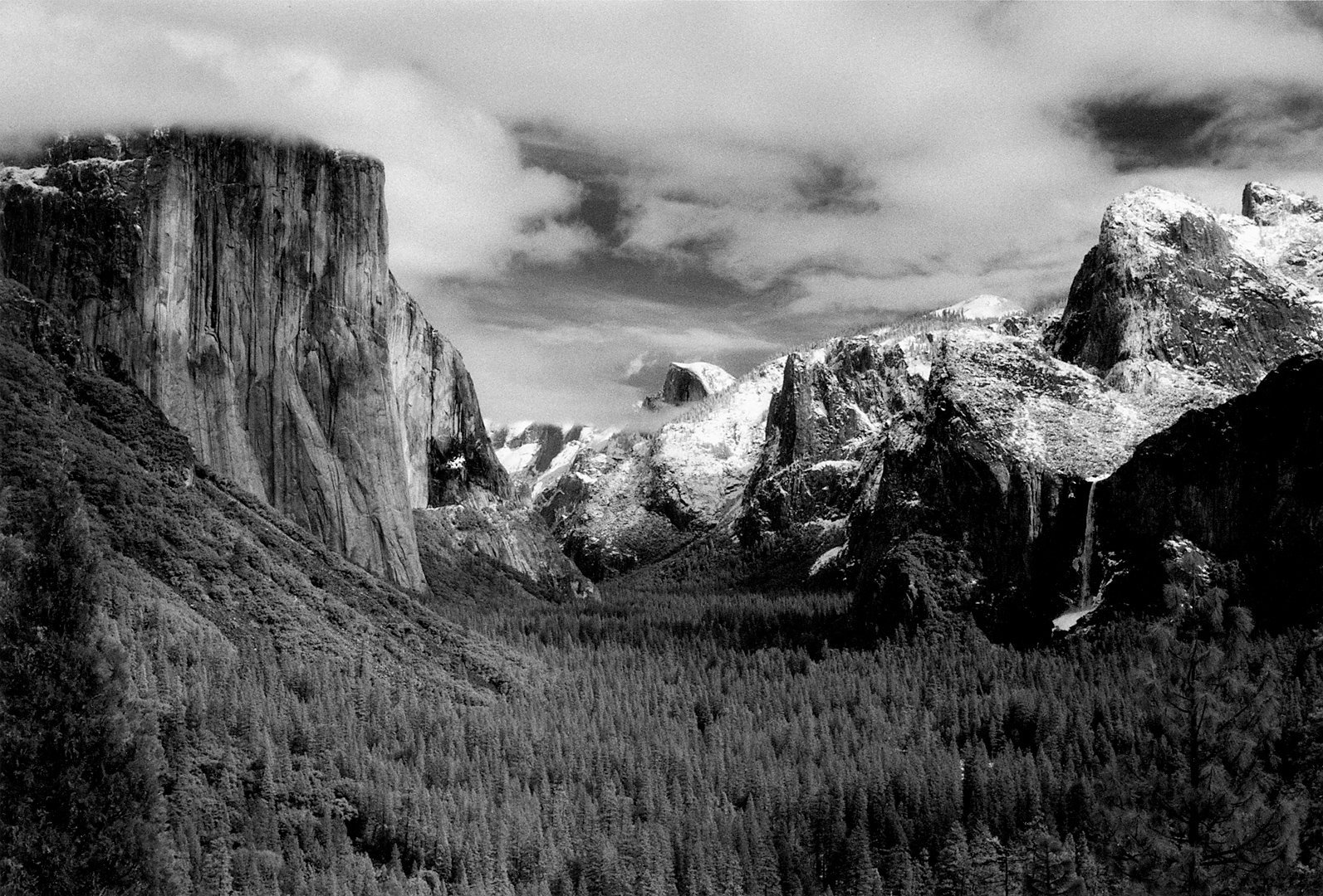 Yosemite National Park<br>Kodak Infrared film