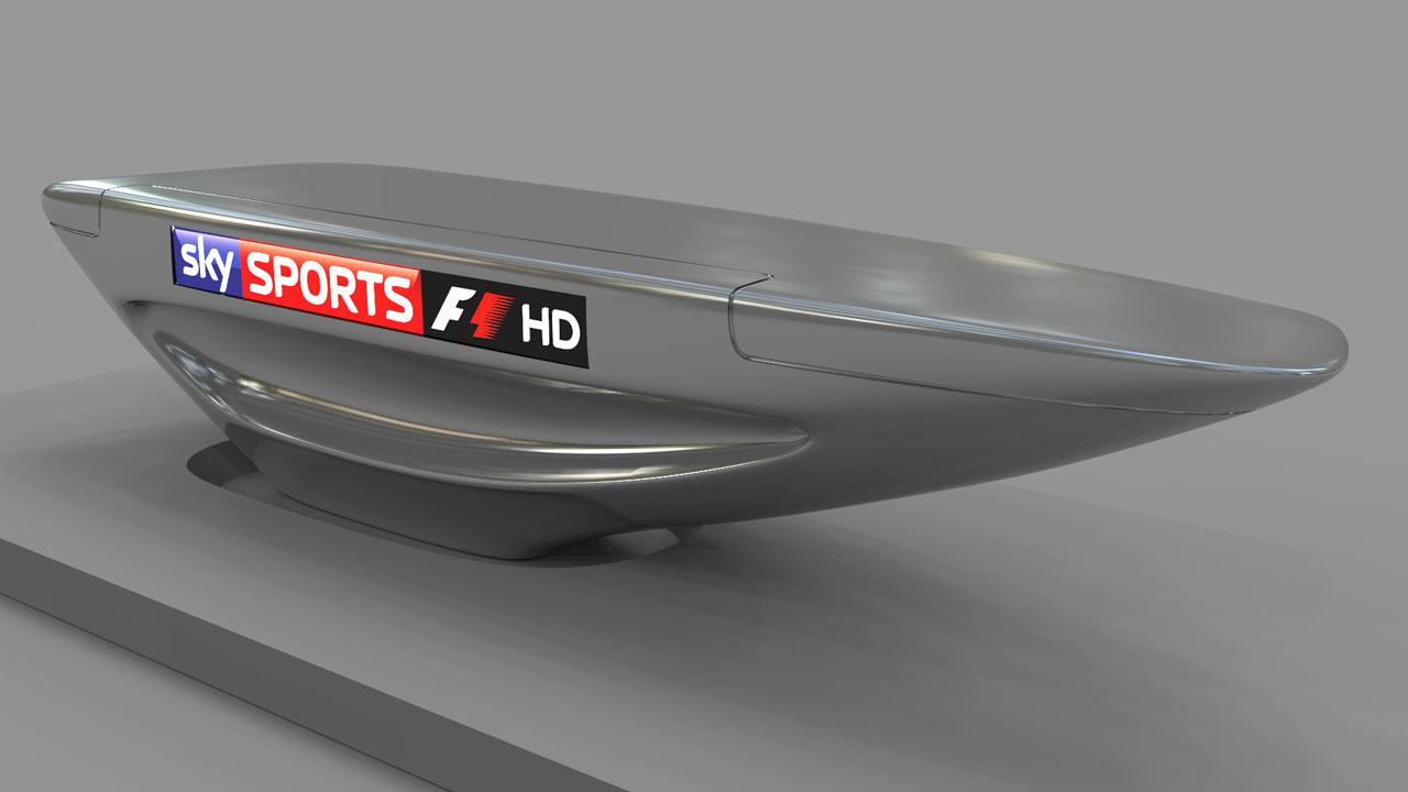 SKY SPORTS F1 HD Pres Desk Model