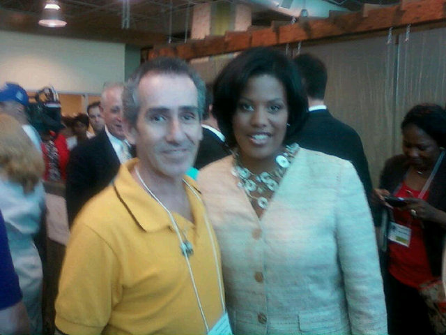 Loza with Mayor of Baltimore (2011)